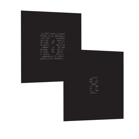 "EXITLP015/EXIT061 - Module Eight Bundle 'Legacy' 3 x 12"" LP + 10"" Sampler"