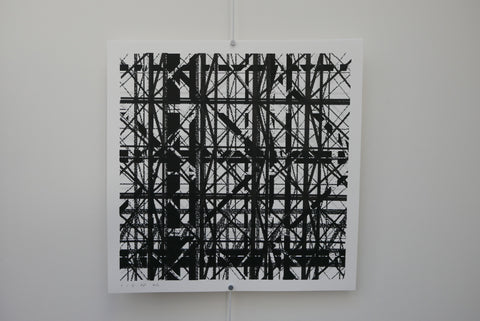 "The Binary Collective 12"" Screen Print by Graphic Surgery - Limited of 30"