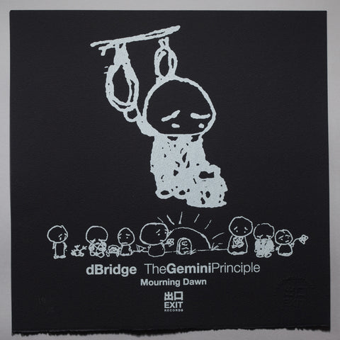 The Gemini Principle - dBridge - Mourning Dawn - Black [Print + Download]