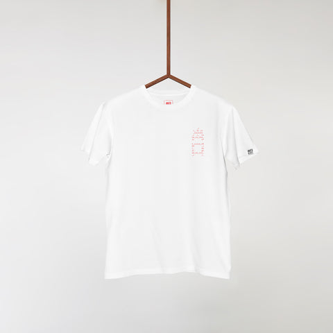 EXITLIMITEDTEE005 Red 'Design by Uno'