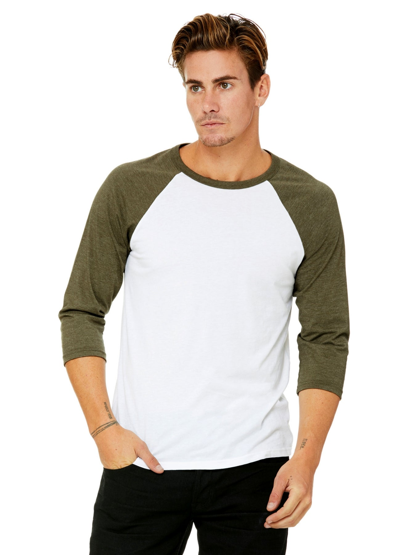 White Heather Olive
