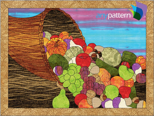 Cornucopia Applique Quilt Pattern