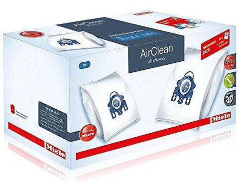 Miele Performance Pack 16 Type GN AirClean 3D Efficiency FilterBags