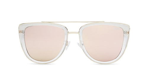 QUAY AUSTRALIA - Clear/Pink French Kiss Sunglasses