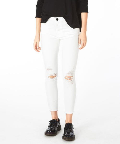 ONE TEASPOON - True White Freebirds II High Waist Skinny Jean