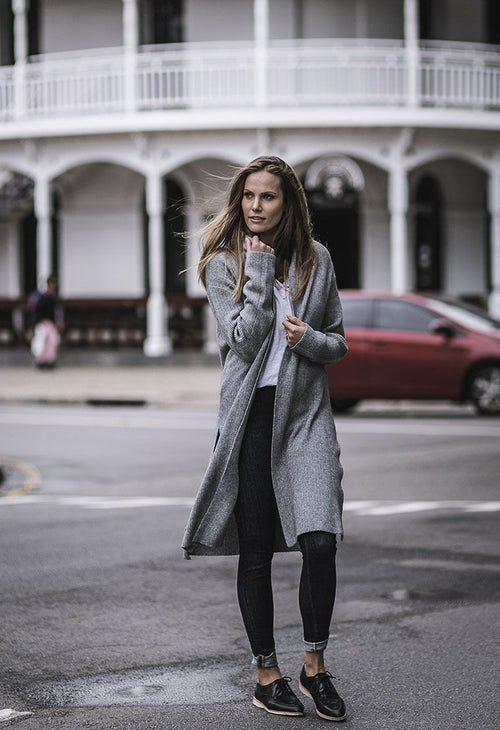 HUMIDITY - Grey Verte Cardi