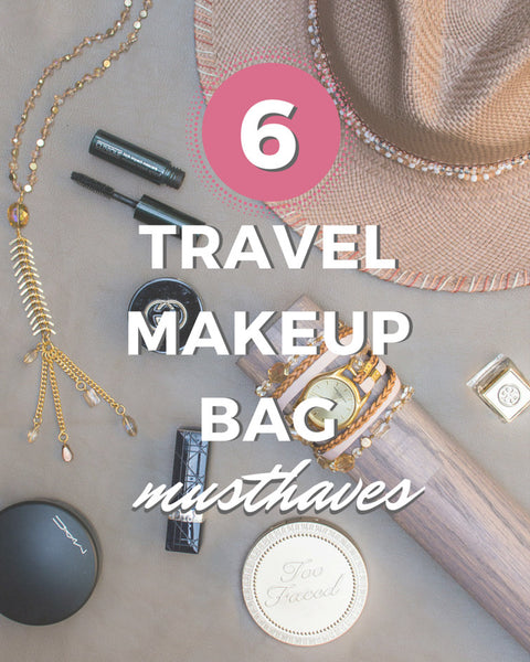 6 Travel Makeup Bag Musthaves