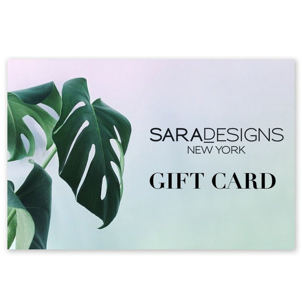 Sara Designs Gift Card