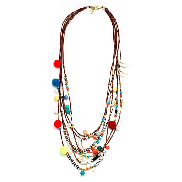 Pompido Multi Necklace Sara Designs