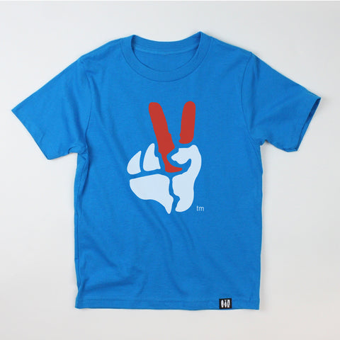 """Peace Sign"" Youth Tee"