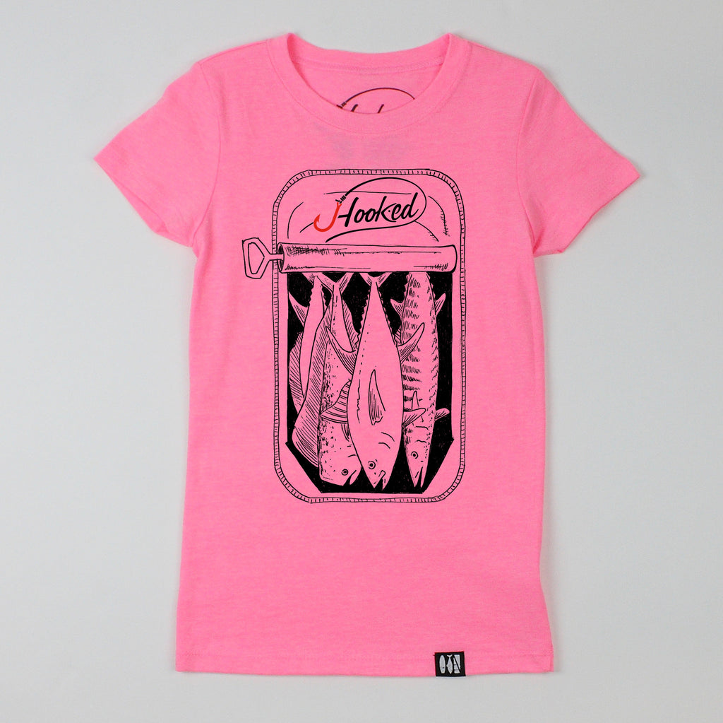 """Off Shore Slam in a Can"" Girls' Tee"