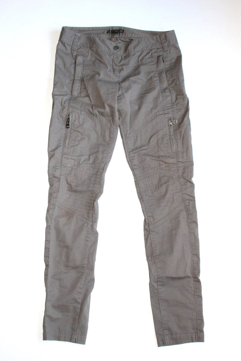 Armani Exchange Grey Skinny Cargo Pants - Joyce's Closet  - 1