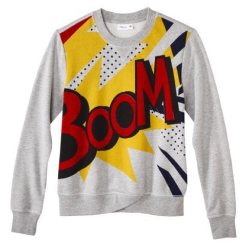 3.1 Philip Lim x Target Grey Graphic Crewneck Sweater Size XL