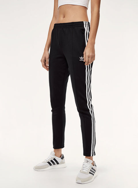 Adidas 3 Stripe Superstar Black Track Pants Size XS
