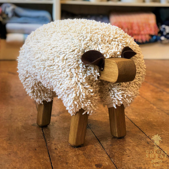 Sheep Footstool by Ewemoo