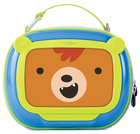 Lunch Box Orso Blue | BEN BAT | RocketBaby.it
