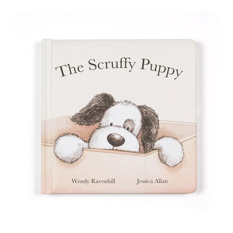 Scruffy Puppy Book Libro in Inglese | JELLY CAT | RocketBaby.it