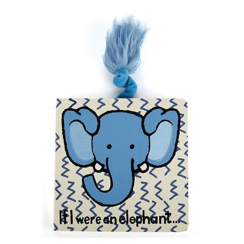 If I Were an Elephant Board Book Libro in Inglese | JELLY CAT | RocketBaby.it