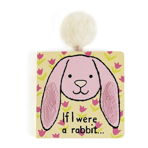 If I Were a Rabbit Pink Board Book Libro in Inglese | JELLY CAT | RocketBaby.it