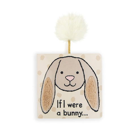 If I were a Bunny Beige Board Book Libro in Inglese | JELLY CAT | RocketBaby.it