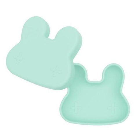 Lunch Box in Silicone Coniglietto Menta | WE MIGHT BE TINY | RocketBaby.it