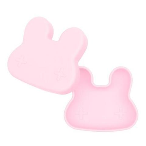 Lunch Box in Silicone Coniglietto Rosa | WE MIGHT BE TINY | RocketBaby.it