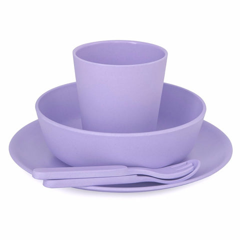 Set Pappa in Bamboo Lilac Purple | BOBO AND BOO BAMBOO | RocketBaby.it