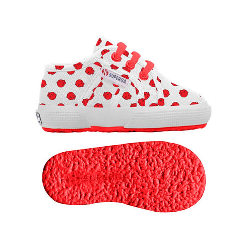 Sneaker Baby Superga con Lacci Pupperfish Red | SUPERGA | RocketBaby.it