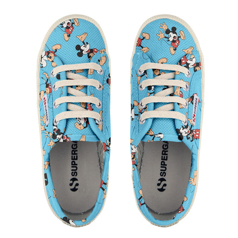 Sneakers Baby Superga Con Lacci Azul Mickey Pose | SUPERGA | RocketBaby.it