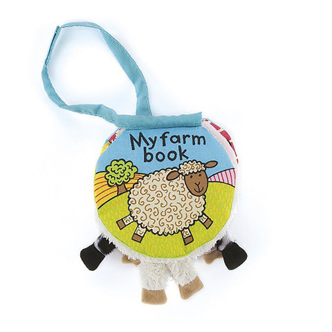 My Farm Book Libro Morbido in Inglese | JELLY CAT | RocketBaby.it