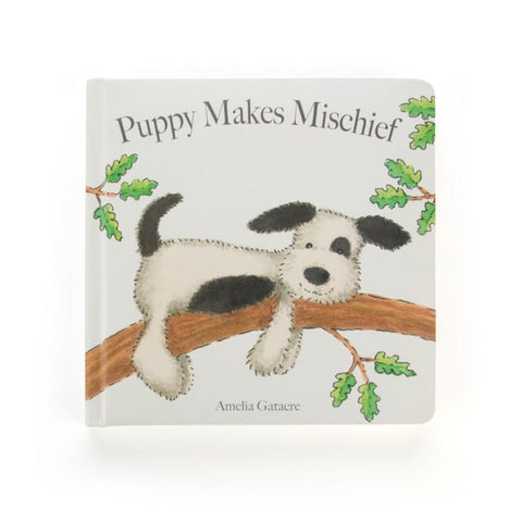 Puppy Makes Mischief Book Libro in Inglese | JELLY CAT | RocketBaby.it