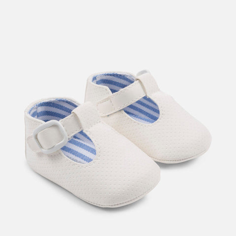 Scarpe Soft Sole con Strap Bianco | MAYORAL | RocketBaby.it