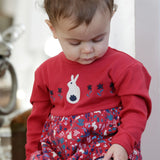 Vestito a Body Bunny Print | PICCALILLY | RocketBaby.it
