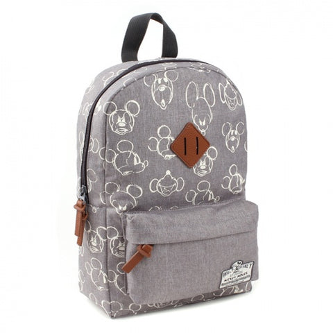 Zaino Mickey Mouse Pattern 90th Anniversary | DISNEY BAGS | RocketBaby.it