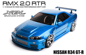 MST (#533703) RMX 2.0 R34 GT-R - 1/10 On Road Ready to Run 2WD Drift Car