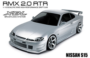 MST (#533705S) RMX 2.0 NISSAN S15 (SILVER) - 1/10 On Road Ready to Run 2WD Drift Car