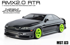 MST (#533707BK) RMX 2.0 JZ3 (Black) - 1/10 On Road Ready to Run 2WD Drift Car