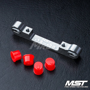 MST (#820058S) Adjustable Aluminium Suspension Mount (+1.5-+3.0) - Silver