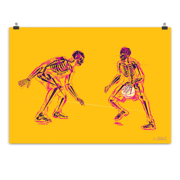 """Jordan Vs. Iverson"" X-Ray No.1"