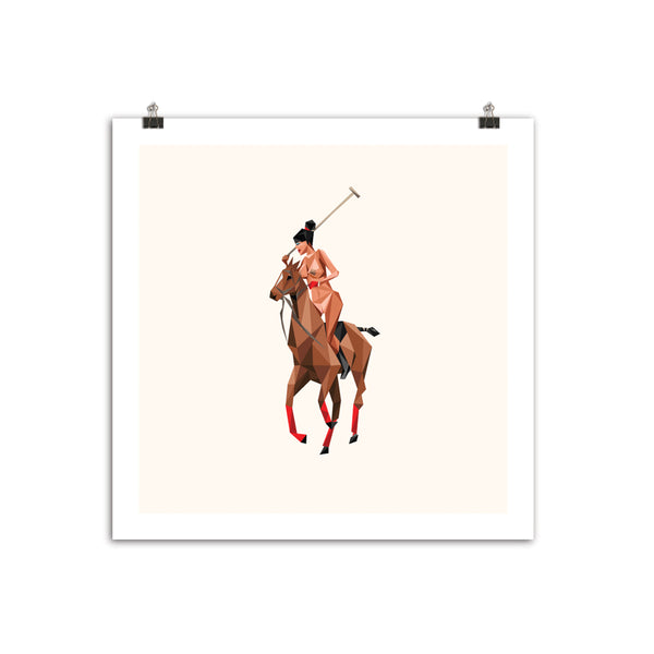 """Thoroughbred"" 12""x12"" Off-White Archive Edition"