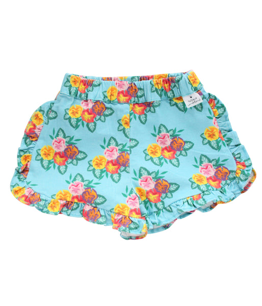 Curious Wonderland Happy Pansy Fill Shorts