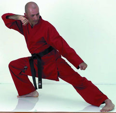 10130 Red Karate Uniform