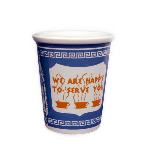 "Facebook Espresso Version ""We Are Happy To Serve You"" Ceramic Cup"
