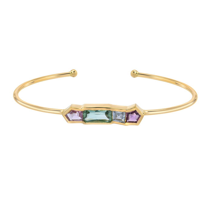 Mosaic Row Bangle