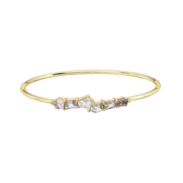 Mosaic Twist Bangle