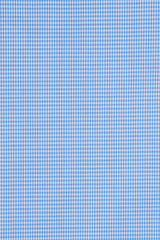 Wrinkle-Resistant French Blue Houndstooth
