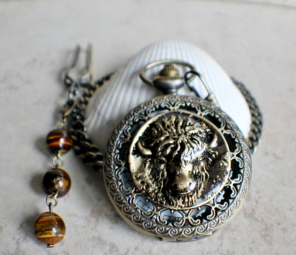 Buffalo Pocket Watch - Char's Favorite Things - 2
