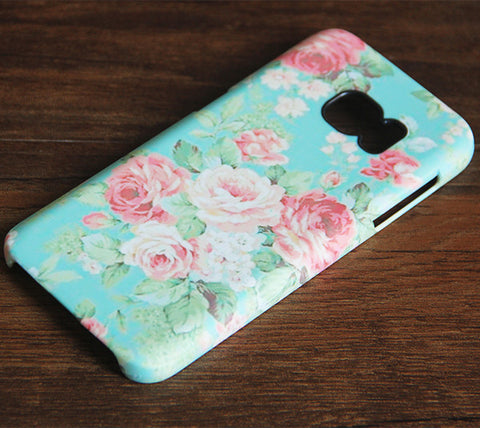 Art Faded Color Flowers Samsung Galaxy S7 Edge/S7/S6 Edge Plus/S6 Edge/S6/S5/S4/Note 5/Note 4/Note 3 Case 977 - Acyc - 1
