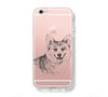 Cute Dog Pet iPhone 6s 6 Clear Case iPhone 6 plus Cover iPhone 5s 5 5c Transparent Case Galaxy S6 Edge S6 S5 Case - Acyc - 1