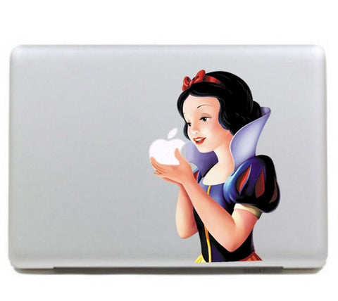 "Colorful Snow White Carton DIY Macbook Laptop decal sticker skin for Retina Pro Air 13"" - Acyc - 1"
